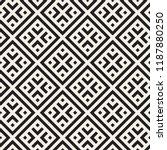 vector seamless pattern. modern ... | Shutterstock .eps vector #1187880250