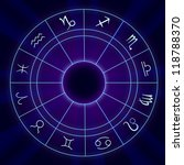 Zodiac Signs Horoscope   Vecto...