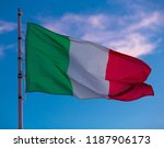 image of national tricolour...   Shutterstock . vector #1187906173
