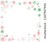 christmas corners background... | Shutterstock .eps vector #1187907943