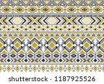 rhombus and triangle symbols... | Shutterstock .eps vector #1187925526