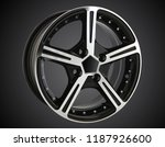 alloy wheel or rim of car   Shutterstock . vector #1187926600