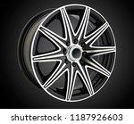 alloy wheel or rim of car   Shutterstock . vector #1187926603