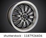 alloy wheel or rim of car   Shutterstock . vector #1187926606