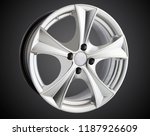 alloy wheel or rim of car   Shutterstock . vector #1187926609