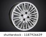 alloy wheel or rim of car   Shutterstock . vector #1187926639