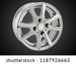 alloy wheel or rim of car | Shutterstock . vector #1187926663