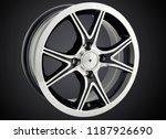alloy wheel or rim of car   Shutterstock . vector #1187926690