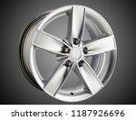 alloy wheel or rim of car   Shutterstock . vector #1187926696