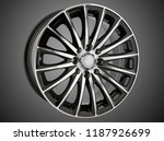 alloy wheel or rim of car   Shutterstock . vector #1187926699
