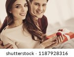 young bridegroom. smiling young ...   Shutterstock . vector #1187928316