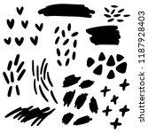 cute simple filling design... | Shutterstock .eps vector #1187928403