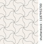 vector seamless pattern. modern ... | Shutterstock .eps vector #1187952700