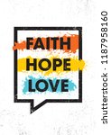 Faith. Hope. Love. Inspiring...