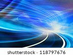 abstract speed motion in urban... | Shutterstock . vector #118797676