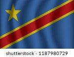 flag of democratic republic of...   Shutterstock .eps vector #1187980729