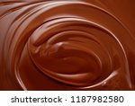 chocolate background. melted... | Shutterstock . vector #1187982580