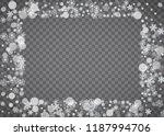 blizzard snowflake on... | Shutterstock .eps vector #1187994706
