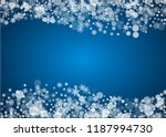 christmas frame with falling...   Shutterstock .eps vector #1187994730