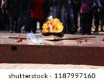 many flowers as a symbol of...   Shutterstock . vector #1187997160