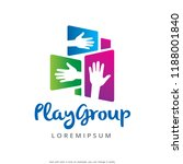 hand logo template design...   Shutterstock .eps vector #1188001840