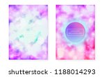 bauhaus cover set with liquid... | Shutterstock .eps vector #1188014293