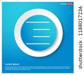 bar icon abstract blue web...