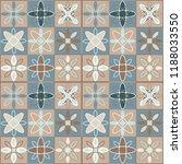 seamless ceramic tile. gorgeous ... | Shutterstock .eps vector #1188033550