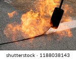 preheating the edges of the... | Shutterstock . vector #1188038143