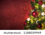 christmas holiday background | Shutterstock . vector #1188039949