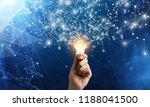 innovative idea in businessman... | Shutterstock . vector #1188041500