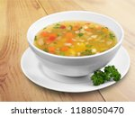 bowl of delicious vegetables... | Shutterstock . vector #1188050470