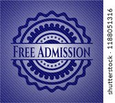free admission with denim... | Shutterstock .eps vector #1188051316