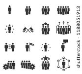 people icons  work group team... | Shutterstock .eps vector #1188051913