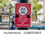 loading and unloading sign at... | Shutterstock . vector #1188053803