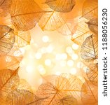 festive background and frame of ... | Shutterstock .eps vector #1188056230