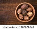 Nutmeg  Close Up  Aromatic...