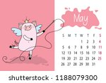 May Month 2019 Year Calendar...