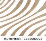 watercolor khaki striped... | Shutterstock . vector #1188080023