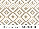 watercolor geometrical pattern... | Shutterstock . vector #1188080050