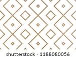 watercolor geometrical pattern... | Shutterstock . vector #1188080056