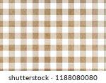 watercolor khaki checked... | Shutterstock . vector #1188080080