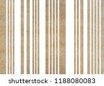 watercolor khaki striped... | Shutterstock . vector #1188080083