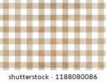 watercolor khaki checked... | Shutterstock . vector #1188080086