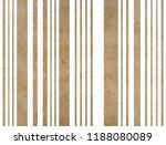watercolor khaki striped... | Shutterstock . vector #1188080089