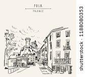 Castle In Foix  Occitanie ...