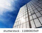 facade of an office building... | Shutterstock . vector #1188083569