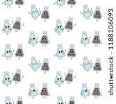 salt and pepper shakers  vector ... | Shutterstock .eps vector #1188106093