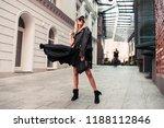 beautiful fashionable woman... | Shutterstock . vector #1188112846