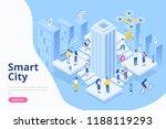 modern flat design isometric... | Shutterstock .eps vector #1188119293